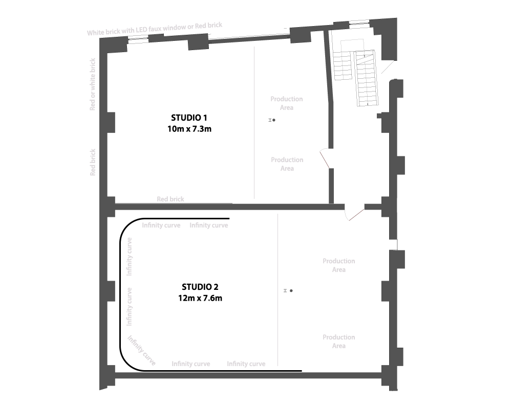 The Forge Floorplan